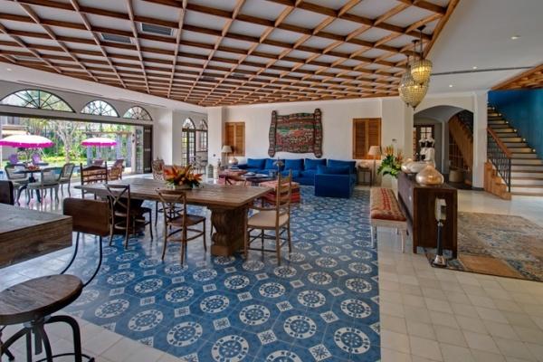 Living room at Villa Sayang d'Amour, Seminyak, Bali