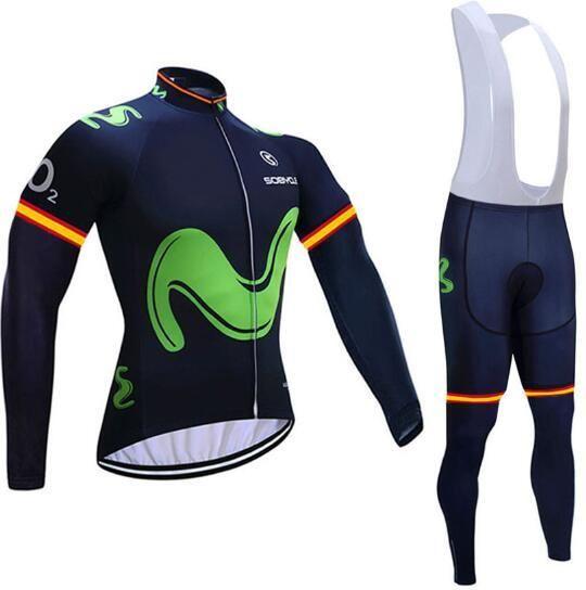 9dcef4655 Winter 2019 Newst M team Cycling JERSEYn 9D pad Bike Pants set men Ropa  Ciclismo pro
