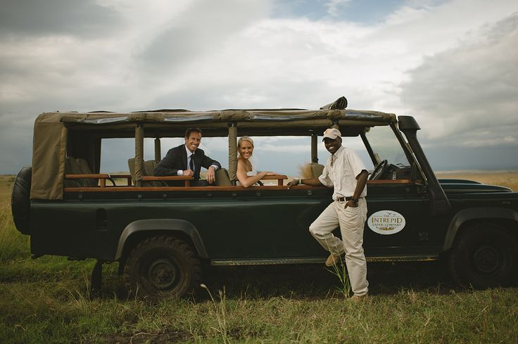 Arriving in style for your Kenya wedding in the Masai Mara