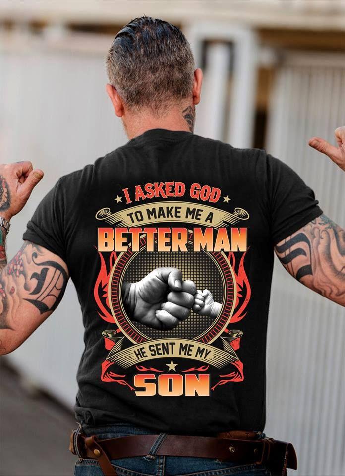 Tattooed papa-best things in life hurt like Hellpapa tatouage père Fun shirt