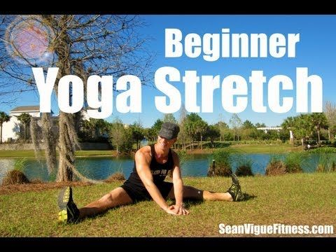 15 min Yoga Stretch for Complete Beginners - Flexibility Routine - Sean Vigue Fitness