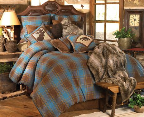 Cabin Decor And Cabin Bedding At Black Forest Decor My