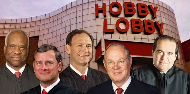 Supreme Court Embraces Discrimination Against Women And Right-Wing Media Narratives In Hobby Lobby