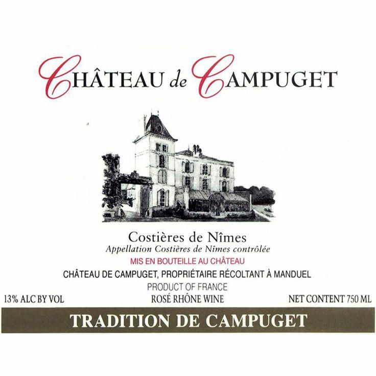 Chateau de Campuget Costieres de Nimes Tradition Rose 2011
