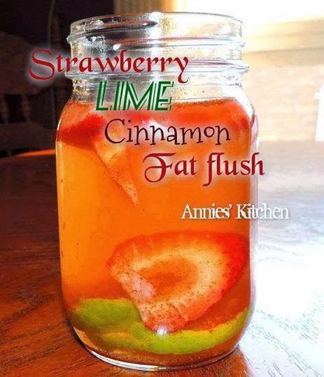 This is how we Mommy: Strawberry Lime Cinnamon Fat Flush