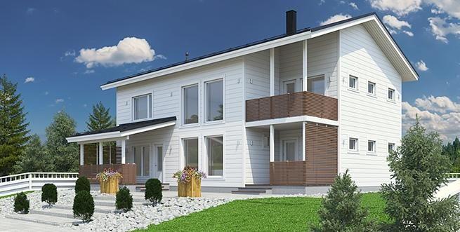 Katso Kuusamo Hirsitalot Kotila 194 ja yli tuhat muuta talomallia Meillä kotonan Talohausta.