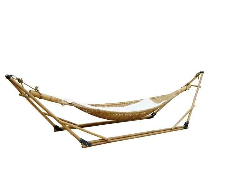 Hamac avec support TOBAGO en bambou