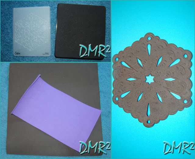 DMR²: COASTER – EVA – SIZZIX