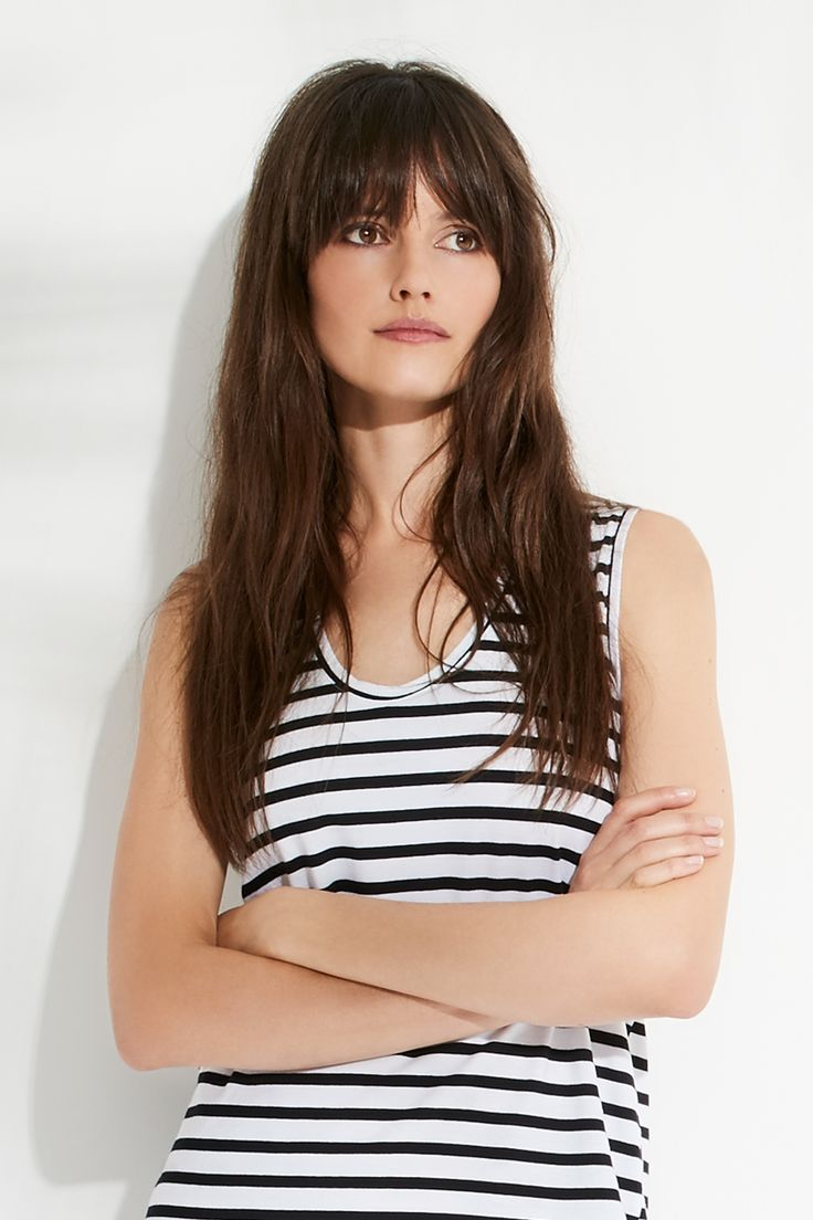 Stripe Muscle Tee by bon label. Summer 16.17. organic. ethical fashion. made in australia. parisian inspired. good for womankind | tank top, stripe, basics, organic, cotton, parisian style | SHOP bonlabel.com.au