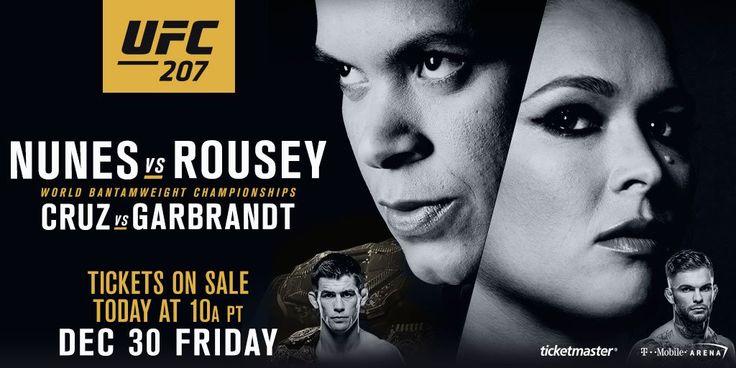UFC 207: Nunes vs Rousey - Weigh-in Recap