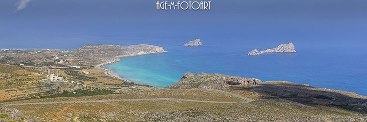 Xerokampos from above by age-m fotoart - Photo 108166307 - 500px