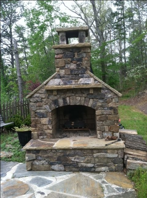 best 25+ outdoor fireplace kits ideas on pinterest | diy outdoor ... - Patio With Fireplace Ideas