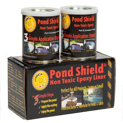 Pond Armor SKU-GRAY-QT-R Non-Toxic Pond Shield Epoxy Paint, 1.5-Quart, Gray Pond Armor http://www.amazon.com/dp/B00D31C6U0/ref=cm_sw_r_pi_dp_AKwZtb1ERBB7BRRJ