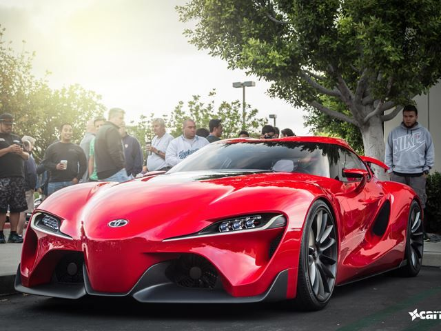 Toyota FT-1 Comes to Cars and Coffee Irvine