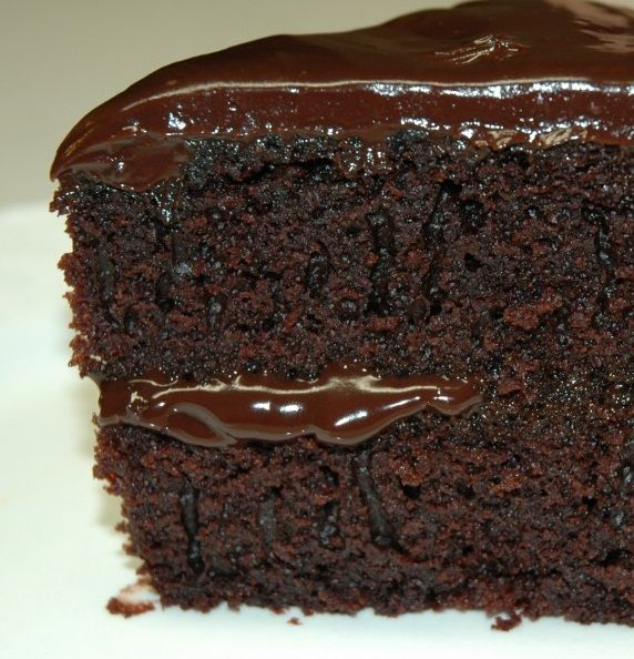 New Cake Recipes: Old Fashioned Chocolate Buttermilk Cake