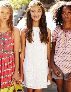 Eva spotted this @BodenClothing Broderie Dress. Wants it for 5th grade graduation.