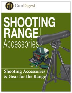 Shooting Range Accessories (FREE DOWNLOAD)  Your trip to the shooting range won't be very fruitful without shooting targets, a spotting scope (and spotting scope tripod!) and shooting ear protection — and that's only a start. Having the latest range gear on hand is critical to make the best and safest use of your time.