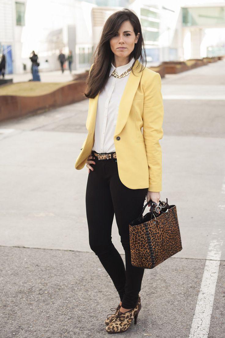 Todas las imágenes de street style en Mercedes Benz Fashion Week Madrid: Isabel Carrillo