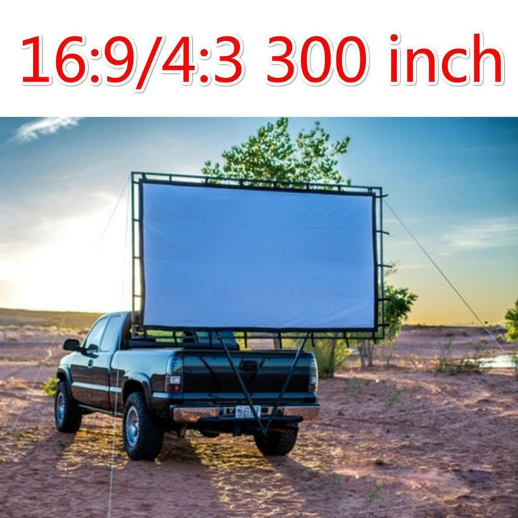 300Inches16:9 Projector Screen Canvas Material Outdoor Film Movie for High Digital Data HD Beamer Projects Projector