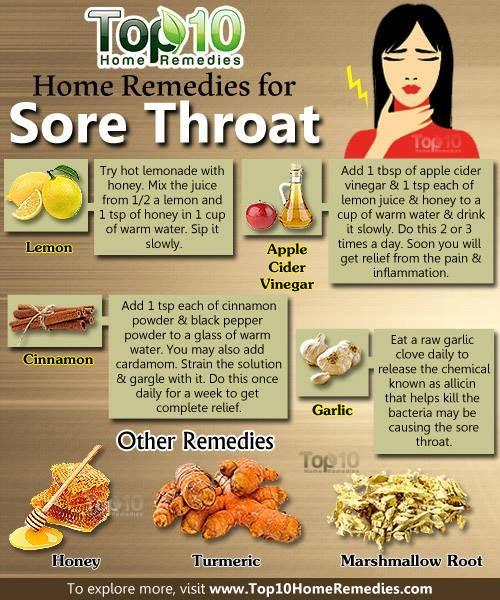 Heal strep throat