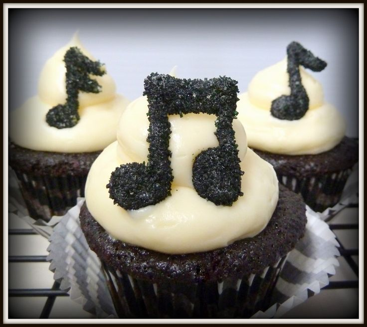 Musical Cupcakes - so much fun! Perfect with Creative Composers!