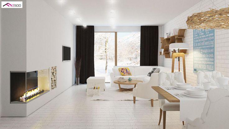 Z131 NF40 to wyjątkowy dom z kategorii projekty domów na wąską działkę