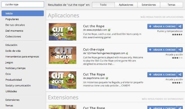 Google renueva las búsquedas de la Chrome Web Store  http://www.genbeta.com/p/75373