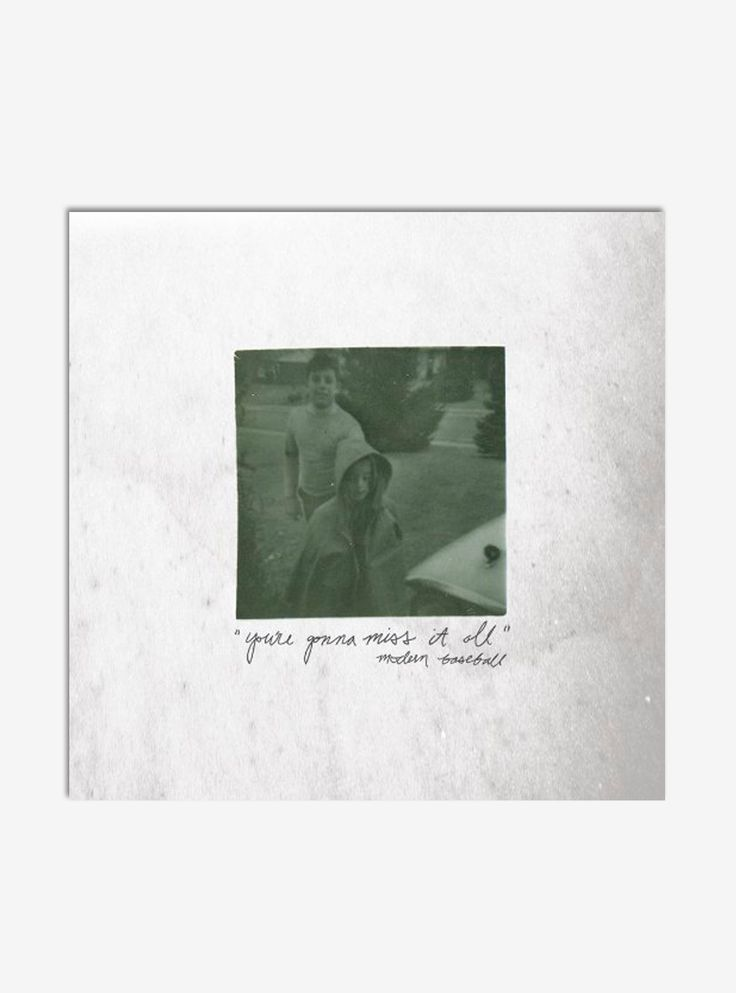 "<p>""You're Gonna Miss It All"" is the second studio album from Philadelphia pop punk outfit Modern Baseball. Pitchfork called it ""dense with both hooks and lyrical barbs,"" making it a perfect music library addition for fans of Weezer and other wordy, whiny punk boys.</p>  <ul>  <li style=""list-style-position: inside !important; list-style-type: disc !important"">Vinyl LP</li>  <li style=""list-st..."