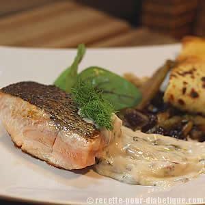 Saumon à l'Oseille rouge et sa crêpe aux légumes