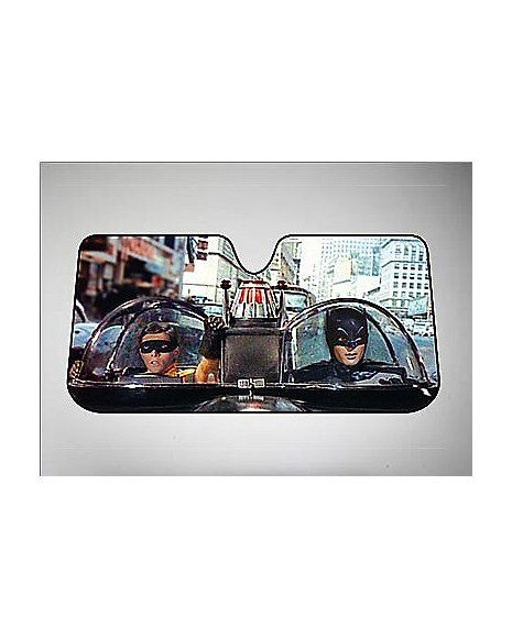 Batman and Robin Car Sun Shade - Spencer's
