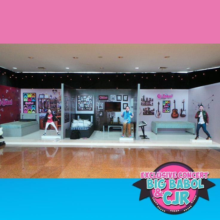 Ini diorama kamar pribadi personil @CJRisCJR yang ada di #KonserBigBabolCJR. Mana kamar yang paling keren nih, Fren?