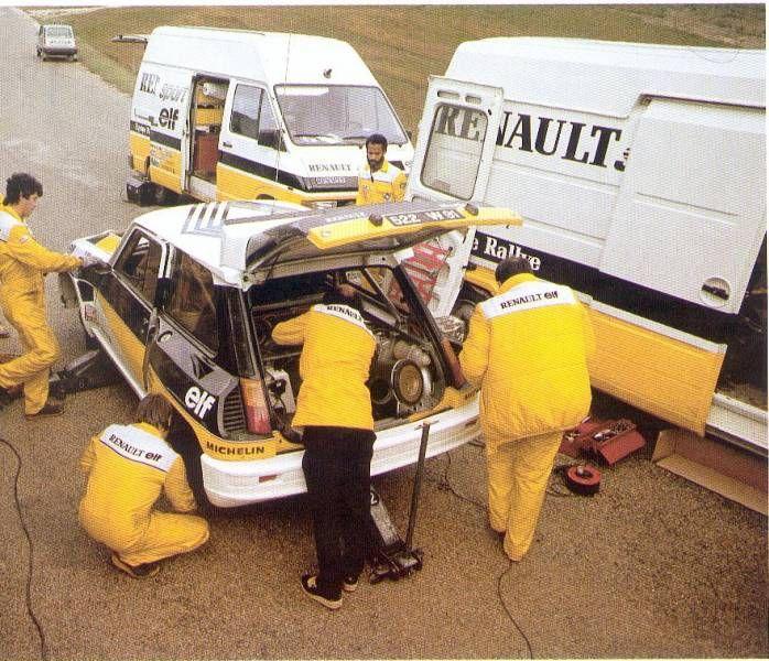 equipe Renault Rallye