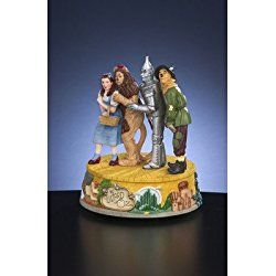THE SAN FRANCISCO MUSIC BOX COMPANY Wizard of Oz Four Character Figurine
