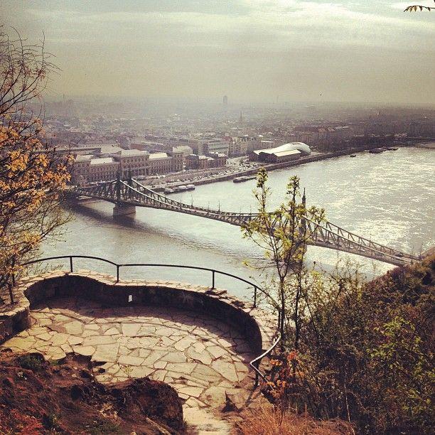 Gellért hegyi kilátó in Budapest