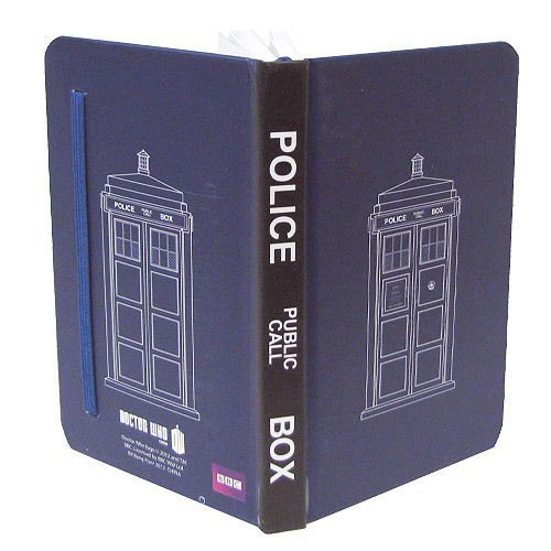 New Dr Who Tardis Police Box Mini Journal Diary Pocket Sized | eBay (5,85e)