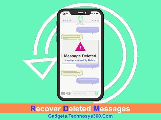 Recover Deleted Text Messages Did You Accidentally Delete All Text