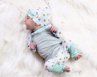 Baby junge Bio kommenden Heim Outfit Neugeborene Hose von Londinlux