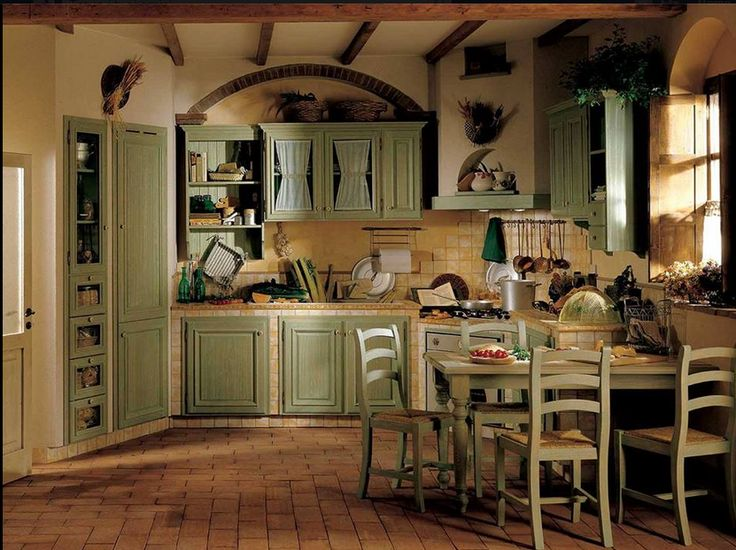 Attractive Country Chic Kitchen, Country Style, Living Room Kitchen, Diy Kitchens,  Farmhouse Kitchens, Kitchen Furniture, Shabby Chic, French Country  Interiors, ...