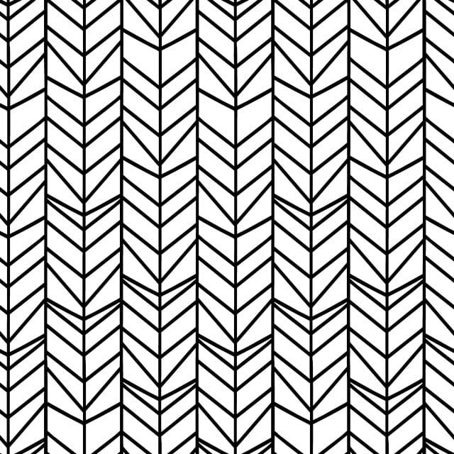 Chevron Herringbone Seamless Pattern With Black And White Colors Vector Brush Effect Vector And Png Color Vector Seamless Patterns Seamless Pattern Vector