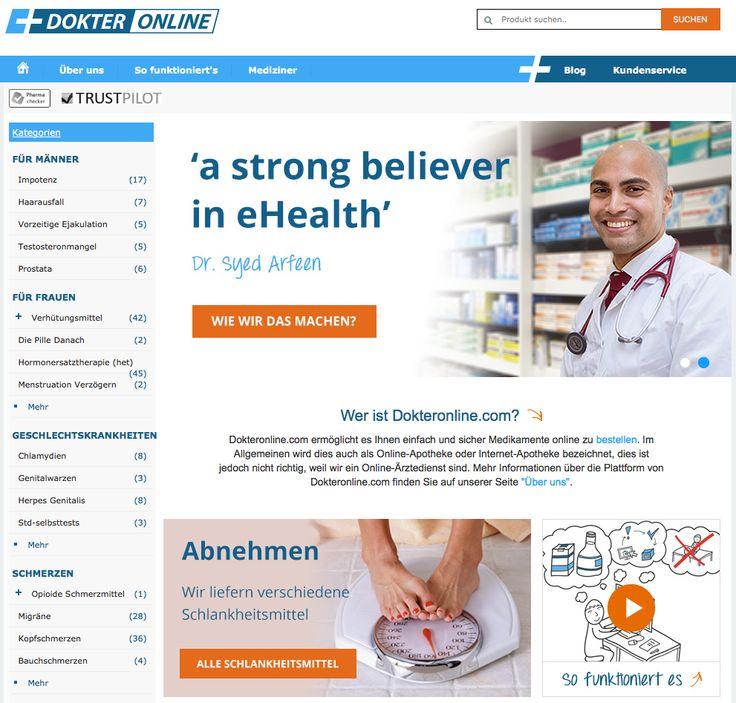 Die letzte Dokter online Erfahrungen und Reviews. Ein Internet Medikus bewerten tut man auf diese Medikamente Seite. Medizin ohne Rezept kaufen einfach mittels der Facharzt uber das Internet.
