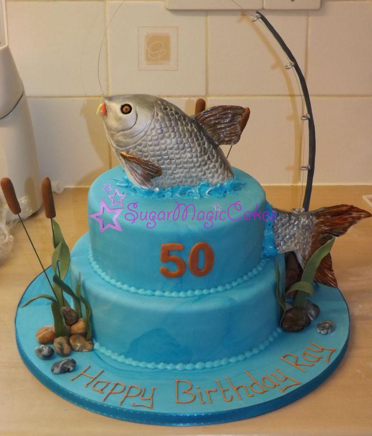 25+ Melhores Ideias Sobre Bolos De Aniversário Com Tema De Pesca No Pinterest
