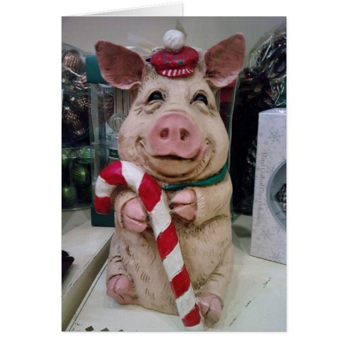 """BE A """"GOOD PIG"""" THIS CHRISMAS"""