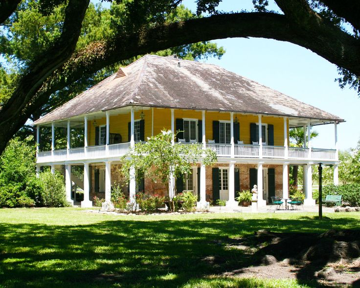 Your eyes aren't deceiving you—there really is more porch than house here! Mary Plantation, as it's dubbed, was saved from the wrecking ball over 50 years ago (had it not survived, we may have had to settle for this porch instead)