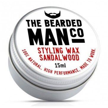 The Bearded Man Company Moustache Wax Sandalwood