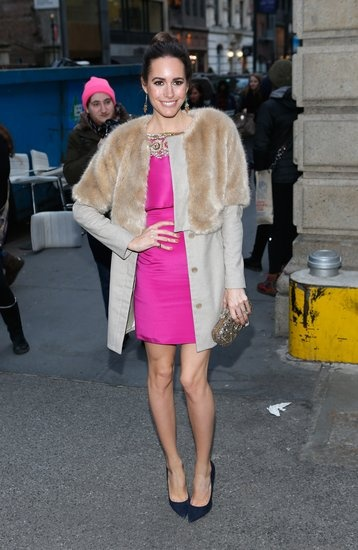 Louise Roe: Louise Roe in New York.