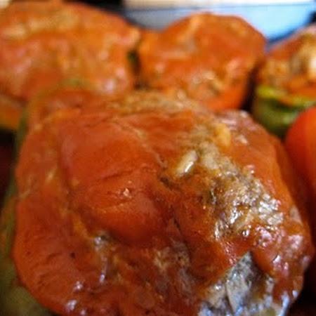 Grandma's Stuffed Peppers