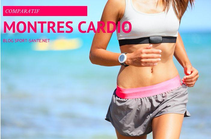 Quelle montre cardio running choisir ? Découvrez notre comparatif des meilleures montres cardio sans ceinture et avec ceinture pour courir. #courir #running #cardio #comparatif #montre