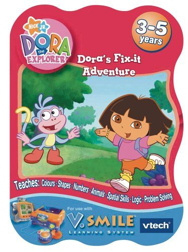 Vtech Learning Game: Dora The Explorer Play through a story and with a goal over a series of eight multi-curricular learning games (Barcode EAN = 0050803922832). http://www.comparestoreprices.co.uk/educational-toys/vtech-learning-game-dora-the-explorer.asp