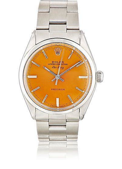 We Adore: The Vintage Oyster Perpetual Air-King Watch from Vintage Watch at Barneys New York