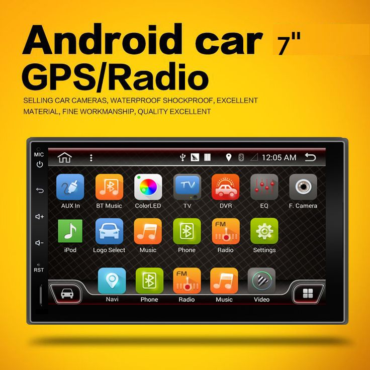 2017 2din Android 4.4 car pc Capacitive universal GPS+Wifi+Bluetooth+Quad 4 Core CPU+DDR3 +12GB Flash audio Free camera